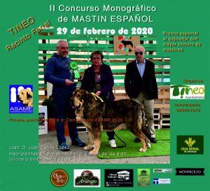 Concurso Monográfico de Mastines