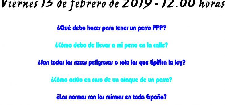 15 DE MARZO A LAS 12.00 HORAS CHARLA SOBRE PPP